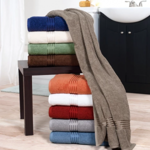 Solid Bath Towels And Washcloths 6pc - Yorkshire Home