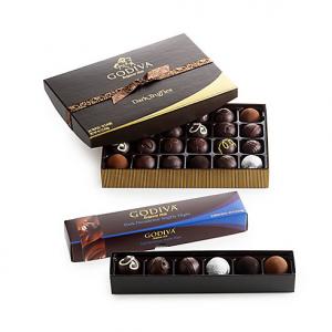 Dark Chocolate Truffle Lover's Gift Set