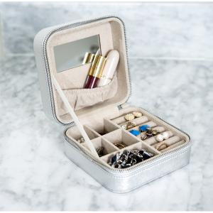 $9.98 Hives & Honey Macy Silver Travel Jewelry Case @ Walmart
