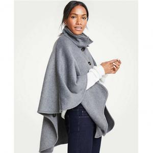 Ann Taylor Poncho Coat