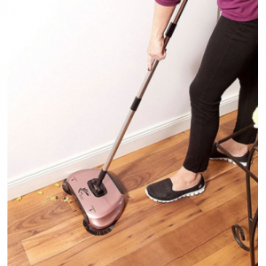 EasyEdge Lightweight Swivel Sweeper for Hard Floors - Assorted Colors