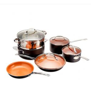10-Piece Set: Gotham Steel Nonstick Cookware - Assorted Colors