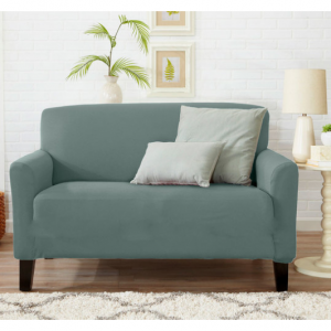 Form-Fitting Lightweight Stylish Protective Slipcover Habor Mist - Love Seat