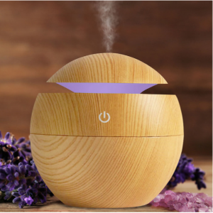 Ultrasonic Cool Mist Wood-Look Aroma Diffuser - Assorted Styles