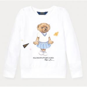 GIRLS 2-6X Cricket Bear Sweatshirt