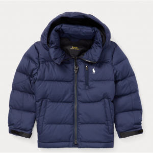 BOYS 2-7 Quilted Ripstop Down Jacket