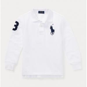 BOYS 2-7 Cotton Mesh Polo Shirt