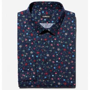 Extra Slim Floral Dress Shirt
