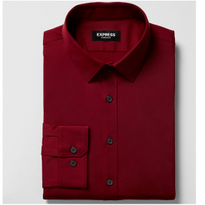 Classic Solid Wrinkle-Resistant Performance Dress Shirt