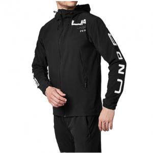メンズスポーツウェア ウインドアップジャケット UA Stretch Woven FZ 2.0 メンズ BLK/CHC/WHT