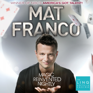 $20 off Mat Franco show tickets @ Caesars Entertainment