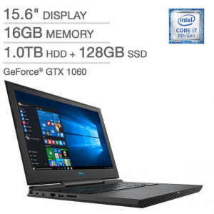 $949.99 for Dell G7 15 Gaming Laptop - Intel Core i7 - GeForce GTX 1060 MaxQ - 1080p @ Costco