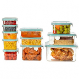 $15 off Wellslock Classic 1-Lock 22-Piece Food Storage Container Deluxe Pack (Assorted Colors)