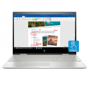 """$150 off HP - ENVY x360 2-in-1 15.6"""" Touch-Screen Laptop (Core i7-8550U, 12GB, 256GB SSD FHD)"""