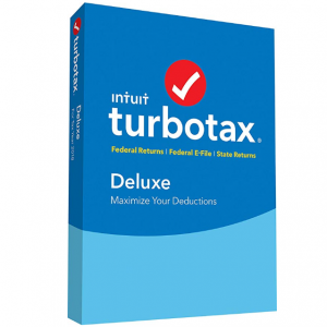 $20 off TurboTax Deluxe + State 2018 Tax Software [PC/Mac Disc] @ Amazon