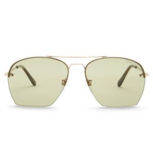 Tom Ford Modified 58mm Aviator 墨镜