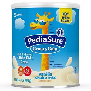 【 Amazon  】PediaSure Grow &Gain 雅培小安素助成长营养乳饮仅$39.87 (原价$41.97)