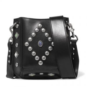 ISABEL MARANT Nasko studded leather shoulder bag