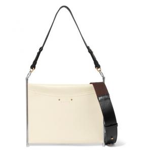 CHLOÉ Roy textured-leather shoulder bag