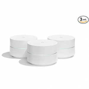 $50 off Google WiFi System 3-Pack Router Replacement (NLS-1304-25) @Amazon