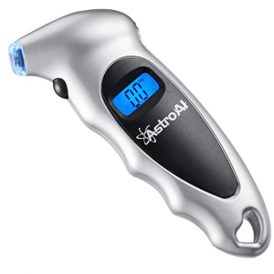 $8.45 for AstroAI Digital Tire Pressure Gauge 150 PSI 4 Settings for Car Truck Bicycle @ Amazon