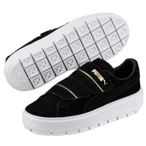 Platform Trace Strap Women's Sneakers