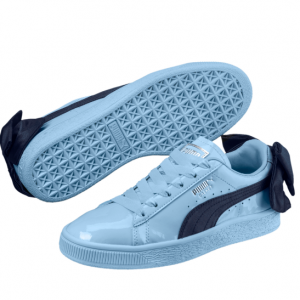 Basket Bow Patent Kids' Sneakers