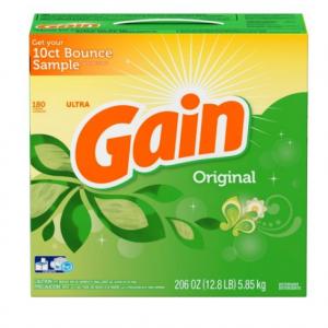 Gain Ultra Powder Laundry Detergent, Original (206 oz., 180 loads)