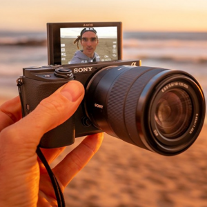 Hello Vloggers ! Sony a6400 Mirrorless APS-C Interchangeable-Lens Camera @ Buydig