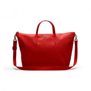 WOMEN'S L.12.12 CONCEPT DUAL CARRY ZIP TOTE BAG