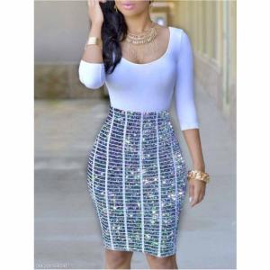 Fashionmia 裹身连衣裙