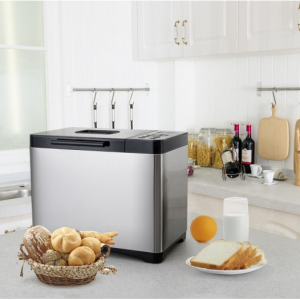 Automatic Stainless Steel Bread Maker 2LB Bread Machine