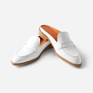 The Modern Penny Loafer Mule