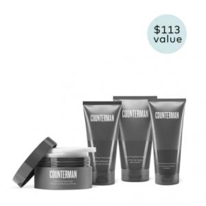 Counterman Shave Regimen @Beautycounter
