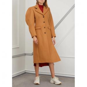 Aalto Coat with ruffles
