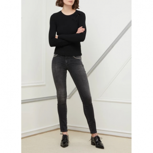 7 For All Mankind Studded Pyper skinny jeans