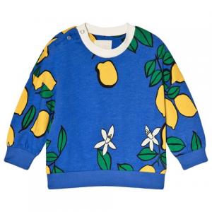 Mini Rodini Blue Lemon Sweatshirt