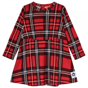 Mini Rodini Red Check Dress