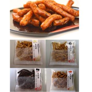 自然薯皮つきかりんとう詰合せセット4種×各1袋入り