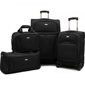 "$341 off 4-Piece American Tourister Lightweight Luggage Set(20"" & 28"" Spinners, Duffel & Boarding)"