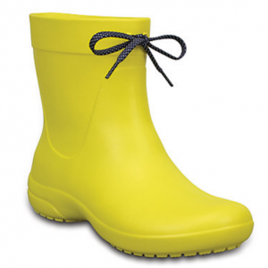 Women's Crocs Freesail Shorty Rain Boot