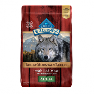Blue Buffalo Wilderness Grain-Free Rocky Mountain Recipe With Red Meat Dry Dog Food, 22 Lb