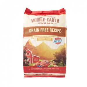Whole Earth Farms Grain-Free Pork, Beef & Lamb Recipe Dry Dog Food, 25 lb