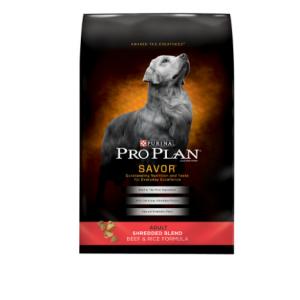 Purina Pro Plan SAVOR Shredded Blend Beef & Rice Formula Adult Dry Dog Food - 6 lb. Bag
