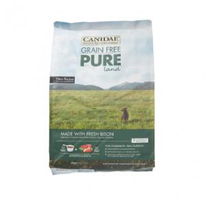 Canidae Pure Land Grain-Free Fresh Bison Dry Dog Food, 24 lb