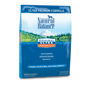 Natural Balance Original Ultra Whole Body Health Dry Dog Food, Chicken, Chicken Meal, Duck Meal Fo