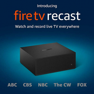 $40 off Fire TV Recast, over-the-air DVR, 500 GB, 75 hours @ Amazon