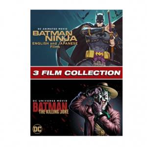 $28.98 off Batman Ninja English and Japanese/ Batman: Killing Joke 3-Film Bundle @ Microsoft Store