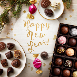 FREE Set of 5 Red Envelopes with any Chinese New Year Gift Box purchase @ Godiva