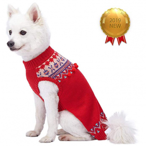 Blueberry Pet Fair Isle, Icelandic Lopi Pullover Dog Sweater or Women's Sweater